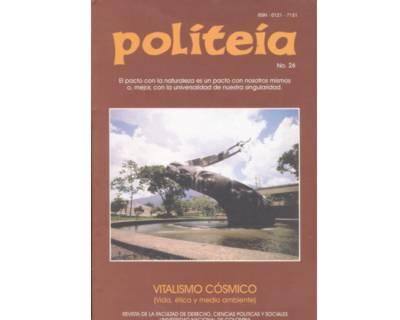 Politeia No. 26. Vitalismo cósmico