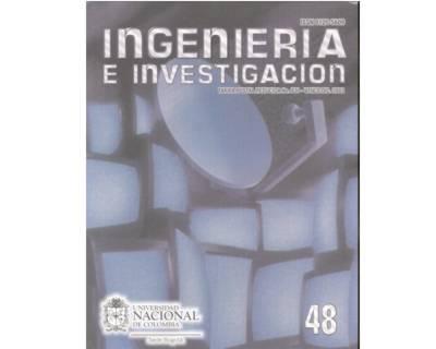 Ingeniería e Investigación No. 48