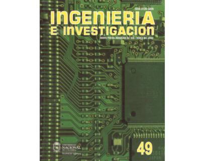 Ingeniería e Investigación No. 49