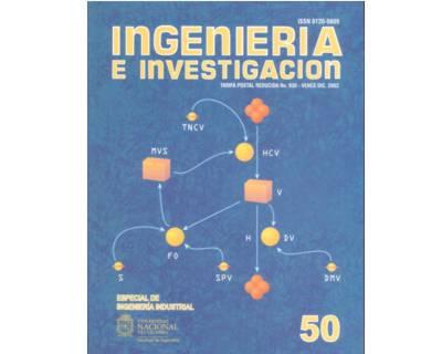 Ingeniería e Investigación No. 50