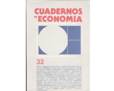 Cuadernos de Economía No. 32