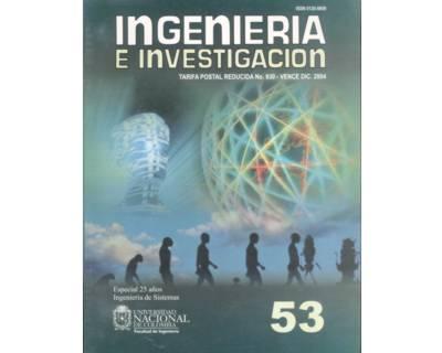 Ingeniería e Investigación No. 53