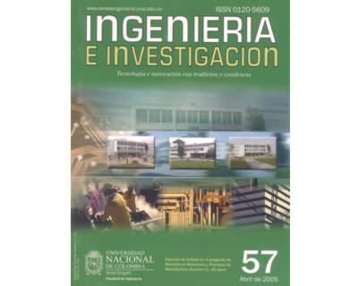 Ingeniería e Investigación No. 57