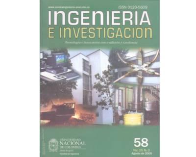 Ingeniería e Investigación No. 58
