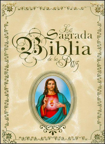 La sagrada biblia de la paz (Incluye CD)