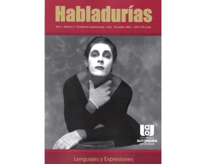Habladurías No. 5. Lenguajes y expresiones