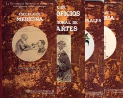 La Universidad Nacional de Colombia en el siglo XIX. Documentos para su historia (juego de 6 tomos)