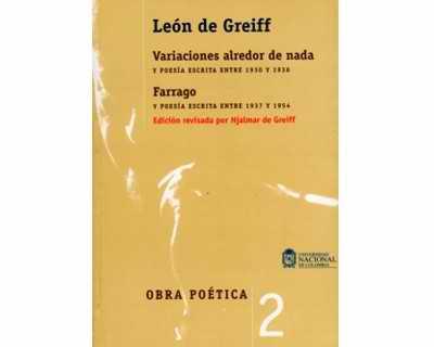 Obra poética León de Greiff Tomo II
