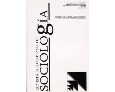 Revista Colombiana de Sociología No. 25. Sociología de la Educación