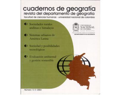 Cuadernos de geografía. No. 13