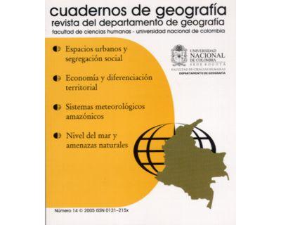 Cuadernos de geografía. No. 14