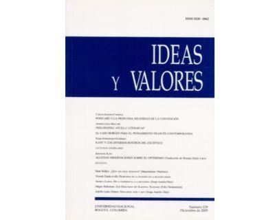 Ideas y Valores. Revista Colombiana de Filosofía. No. 129