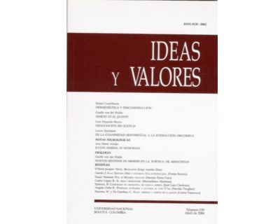Ideas y Valores. Revista Colombiana de Filosofía. No. 130
