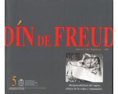 Desde el Jardín de Freud. Revista de Psicoanálisis. No. 5