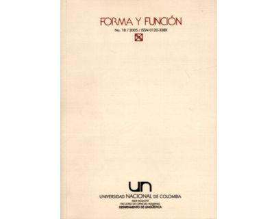 Forma y Función No. 18