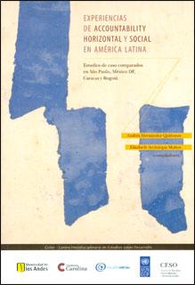 Experiencias de accountability horizontal y social en América Latina. Estudios de caso comparados en São Paulo, México DF, Caracas y Bogotá