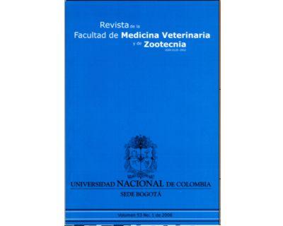 Revista de la Facultad de Medicina Veterinaria y de Zootecnia. No. 1. Vol. 53