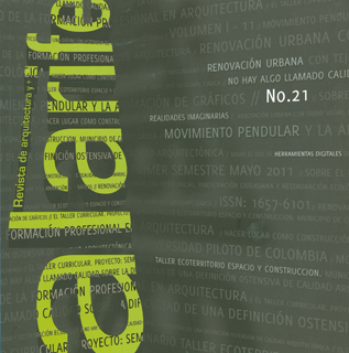 Alarife No. 21. Revista de Arquitectura