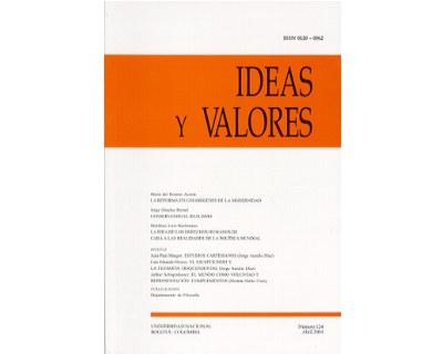 Ideas y Valores. Revista Colombiana de Filosofía. No. 124