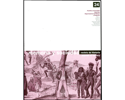 Memoria y sociedad. Vol. 12. No. 24