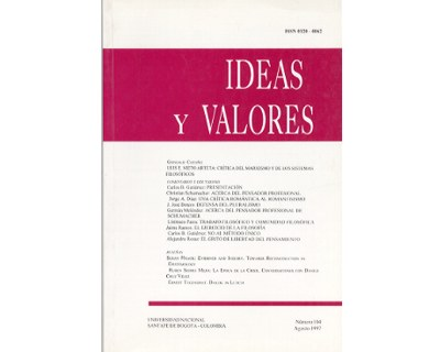 Ideas y Valores. Revista Colombiana de Filosofía. No. 104