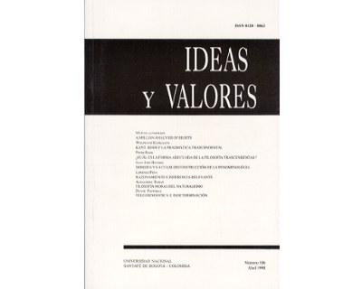 Ideas y Valores. Revista Colombiana de Filosofía. No. 106