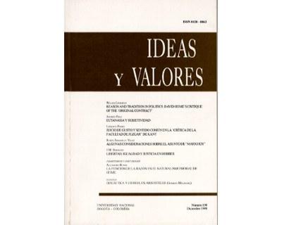 Ideas y Valores. Revista Colombiana de Filosofía. No. 108