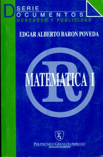 Matemática I. Mercadeo y Publicidad
