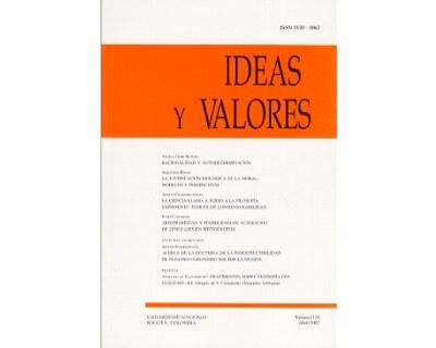 Ideas y Valores. Revista Colombiana de Filosofía. No. 118
