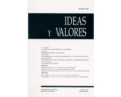 Ideas y Valores. Revista Colombiana de Filosofía. No. 131