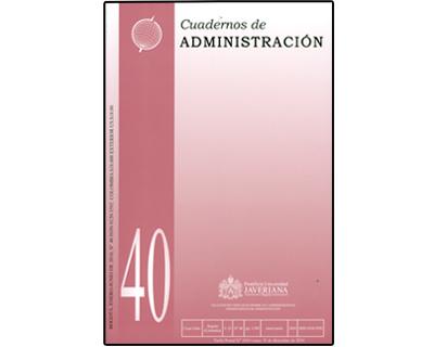 Cuadernos de Administración. No. 40 Vol. 23