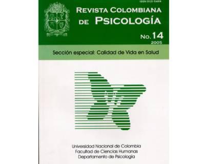 Revista Colombiana de Psicología No. 14. Sección especial: Calidad de vida en salud