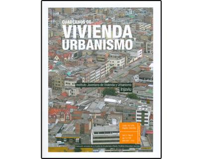 Cuadernos de vivienda y urbanismo Vol. 3. No. 5