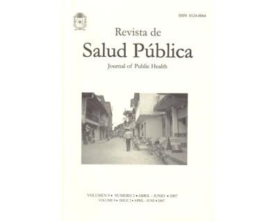 Revista de Salud Pública Vol. 9 No. 2