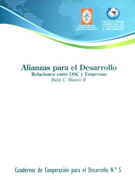 Alianza para el desarrollo. Relaciones entre OSC y empresas