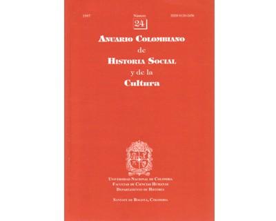 Anuario Colombiano de Historia Social y de la Cultura. No. 24
