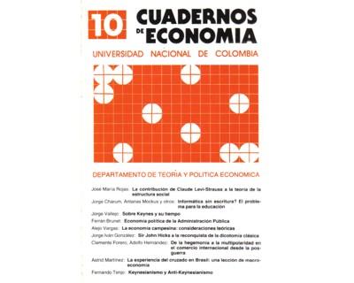Cuadernos de Economía No. 10