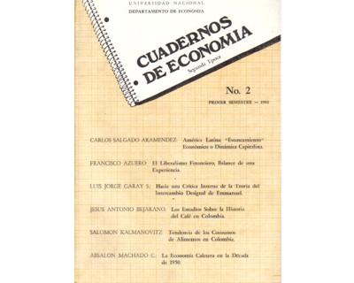 Cuadernos de Economía No. 02