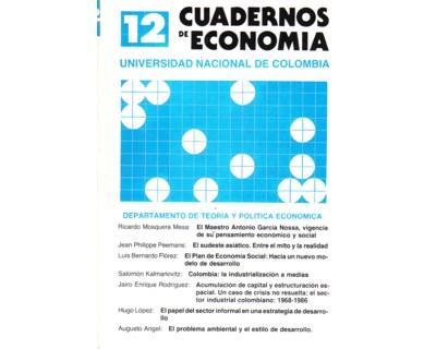 Cuadernos de Economía No. 12