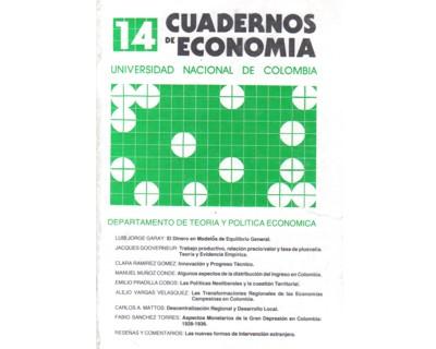 Cuadernos de Economía No. 14