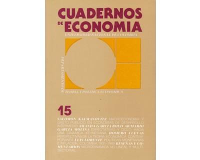 Cuadernos de Economía No. 15