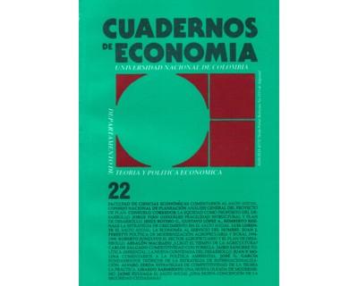 Cuadernos de Economía No. 22