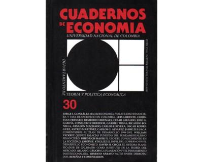 Cuadernos de Economía No. 30
