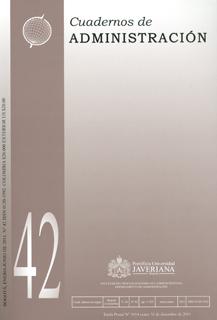 Cuadernos de administración No. 42  Vol.24