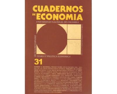 Cuadernos de Economía No. 31