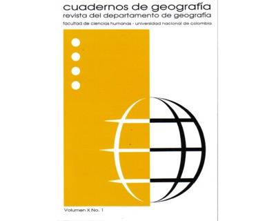 Cuadernos de geografía. Vol. X. No. 1