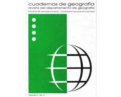 Cuadernos de geografía. Vol. X. No. 2