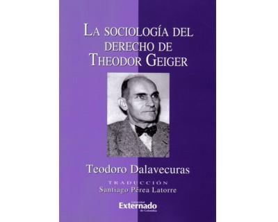 La sociología del derecho de Theodor Geiger