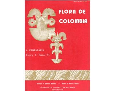 Flora de Colombia. No. 04. Crotalaria