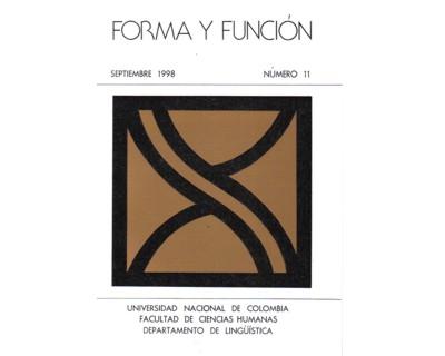 Forma y Función No. 11